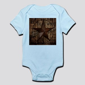 primitive texas lone star cowboy Body Suit
