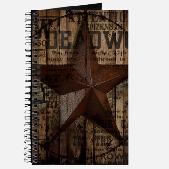 primitive texas lone star cowboy Journal