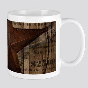 primitive texas lone star cowboy Mugs