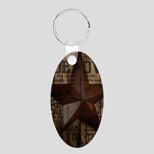 primitive texas lone star cowboy Keychains