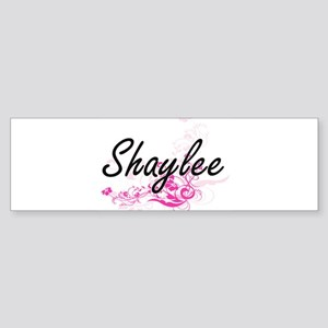 Shaylee Artistic Name Design with F Bumper Sticker