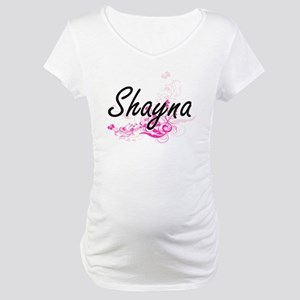Shayna Artistic Name Design with Maternity T-Shirt
