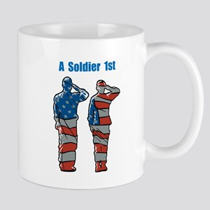A Soldier 1st Mugs