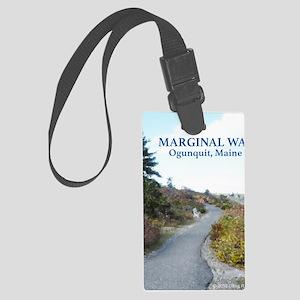 Ogunquit Marginal Way walkway Large Luggage Tag