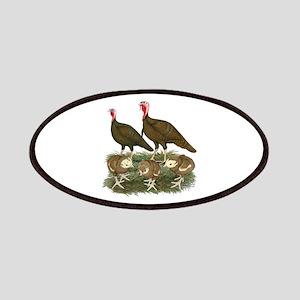 Turkeys Chocolate Family Patch