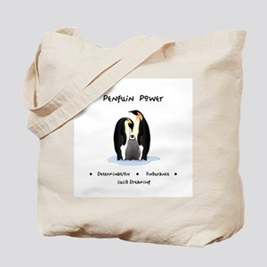 Penguin Power Animal Gifts Tote Bag