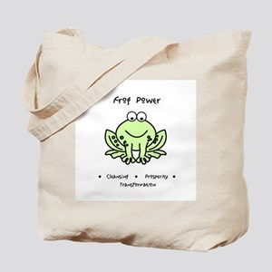 Frog Totem Power Gifts Tote Bag