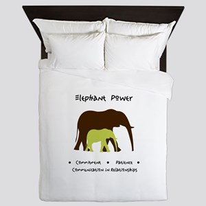 Elephant Animal Medicine Gifts Queen Duvet