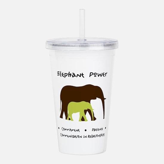 Elephant Animal Medicine Gifts Acrylic Double-wall