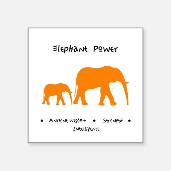 Elephant Totem Power Gifts Sticker