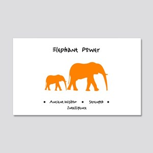 Elephant Totem Power Gifts Wall Decal