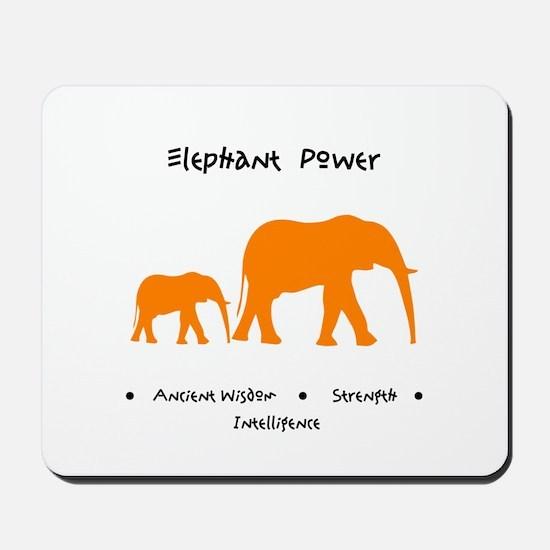 Elephant Totem Power Gifts Mousepad