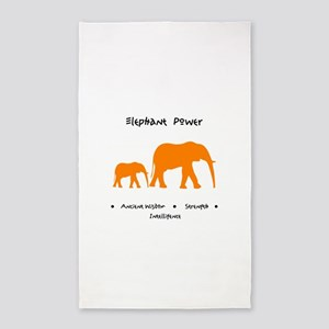 Elephant Totem Power Gifts Area Rug