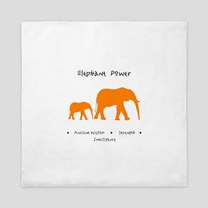 Elephant Totem Power Gifts Queen Duvet