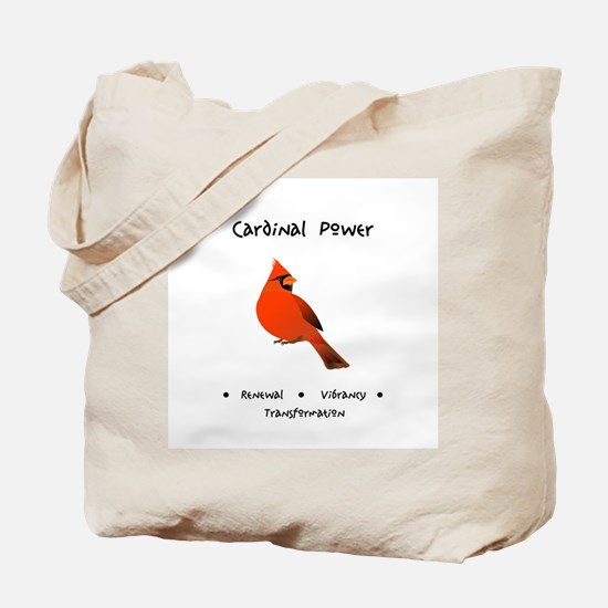 Red Cardinal Totem Gifts Tote Bag