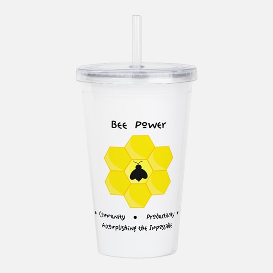 Bee Community Power Animal Gifts Acrylic Double-wa