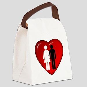 BFWM_Love Canvas Lunch Bag