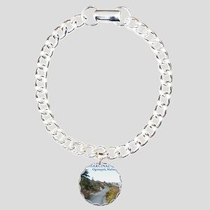 Ogunquit Marginal Way wa Charm Bracelet, One Charm