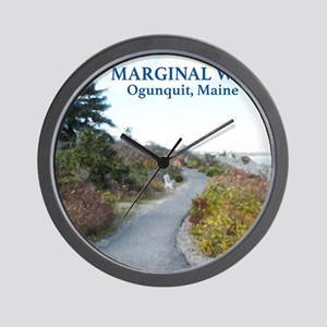Ogunquit Marginal Way walkway Wall Clock