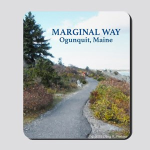 Ogunquit Marginal Way walkway Mousepad