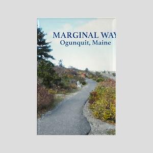 Ogunquit Marginal Way walkway Rectangle Magnet