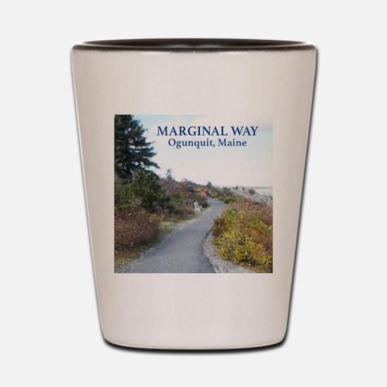 Ogunquit Marginal Way walkway Shot Glass