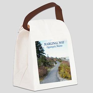 Ogunquit Marginal Way walkway Canvas Lunch Bag