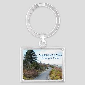 Ogunquit Marginal Way walkway Landscape Keychain
