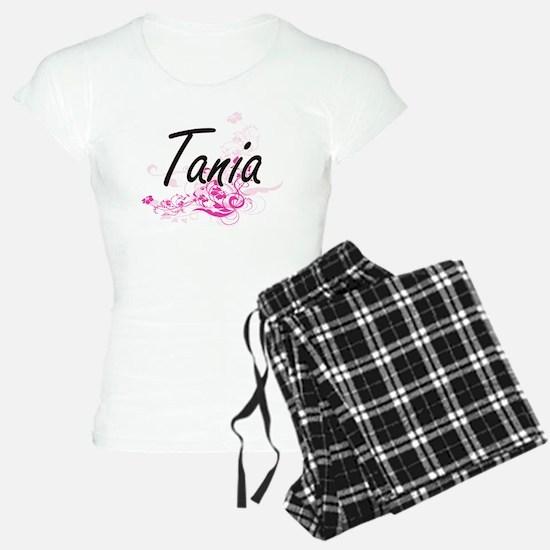 Tania Artistic Name Design Pajamas