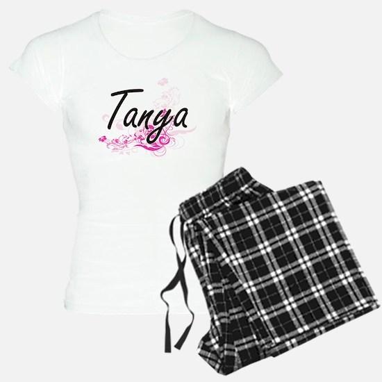 Tanya Artistic Name Design Pajamas