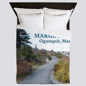 Ogunquit Marginal Way walkway Queen Duvet