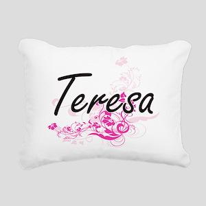 Teresa Artistic Name Des Rectangular Canvas Pillow