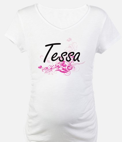Tessa Artistic Name Design with Shirt