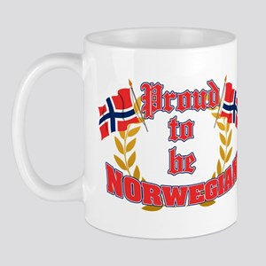 Proud to be Norwegian Mug