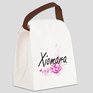Xiomara Artistic Name Design with Canvas Lunch Bag
