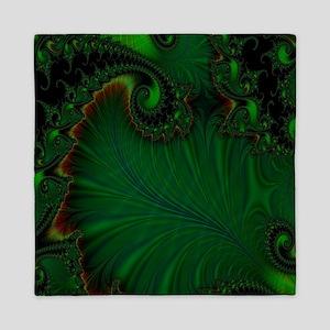 Fern Vert Queen Duvet Cover