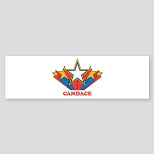 CANDACE superstar Bumper Sticker