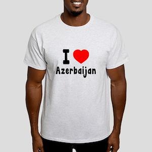 I Love Azerbaijan Light T-Shirt