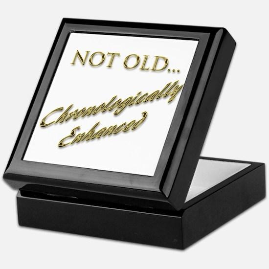 Cronologically Enhanced Keepsake Box