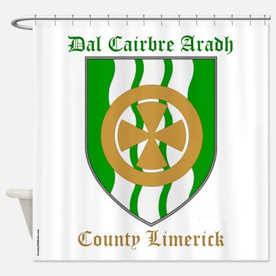 Dal Cairbre Aradh - County Limerick Shower Curtain