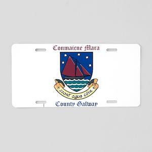 Conmaicne Mara - County Galway Aluminum License Pl