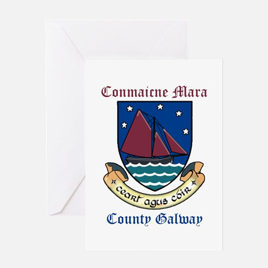 Conmaicne Mara - County Galway Greeting Cards