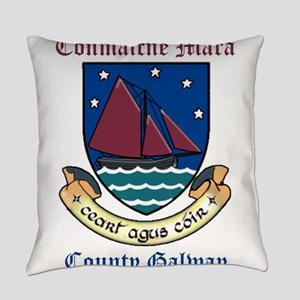 Conmaicne Mara - County Galway Everyday Pillow