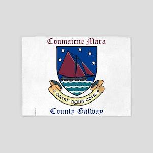 Conmaicne Mara - County Galway 5'x7'Area Rug