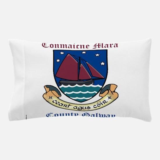 Conmaicne Mara - County Galway Pillow Case