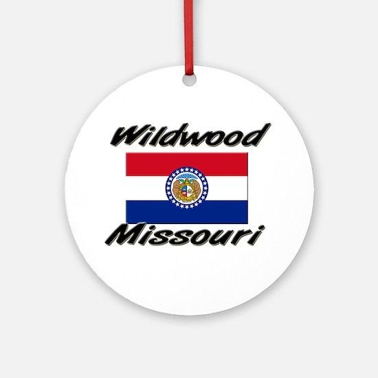 Wildwood Missouri Ornament (Round)