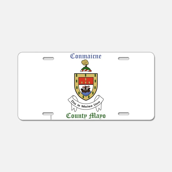 Conmaicne - County Mayo Aluminum License Plate