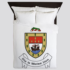 Conmaicne - County Mayo Queen Duvet