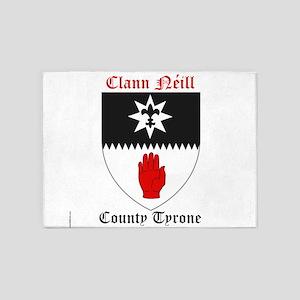 Clann Neill - County Tyrone 5'x7'Area Rug