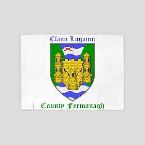 Clann Lugainn - County Fermanagh 5'x7'Area Rug